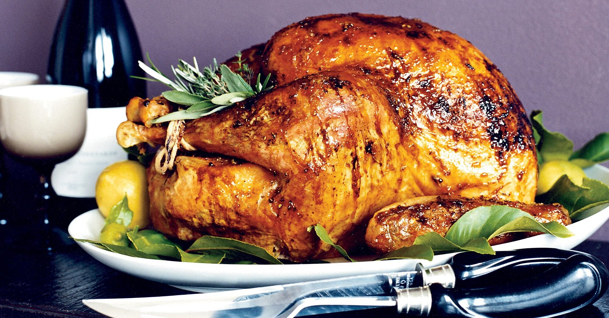 Apricot Glazed Roast Turkey Breast Recipe