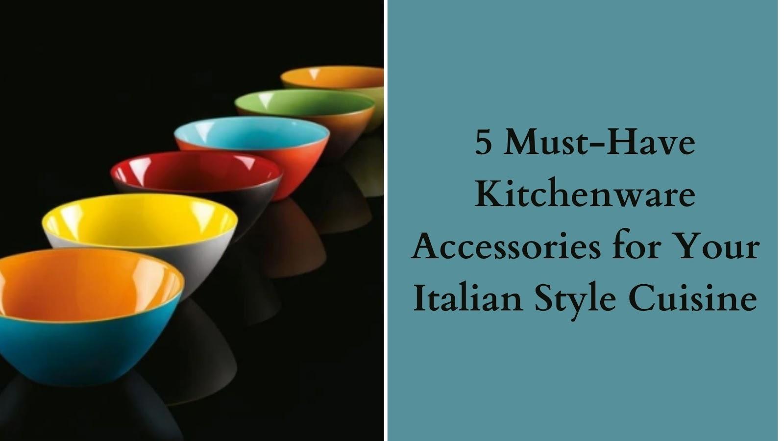 Italian Style Cuisine